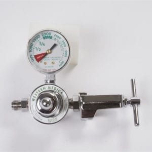 veterinary anesthesia equipment e tank regulator