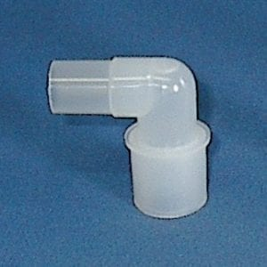 mask elbow for non rebreathing system accessory