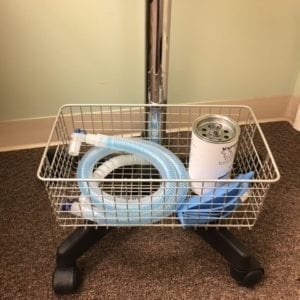 veterinary surgical equipment wire storage basket