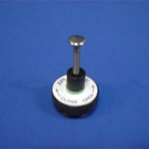 anesthesia machine vad pop off valve servicing system