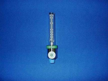anesthesia machine servicing oxygen therapy flowmeter
