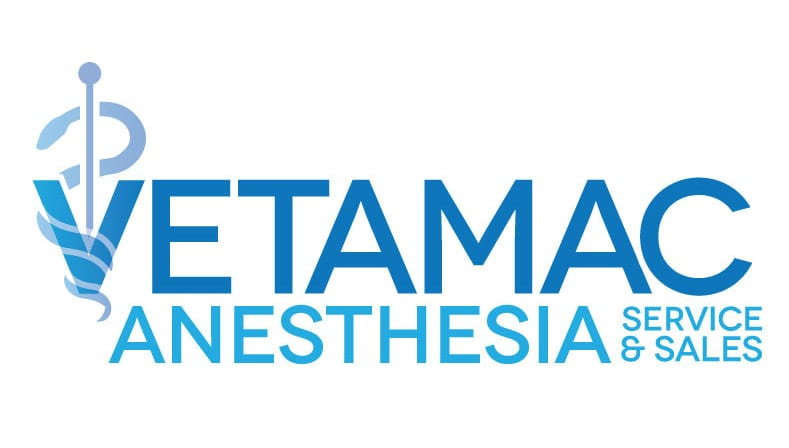 vetamac logo for veterinary anesthesia services